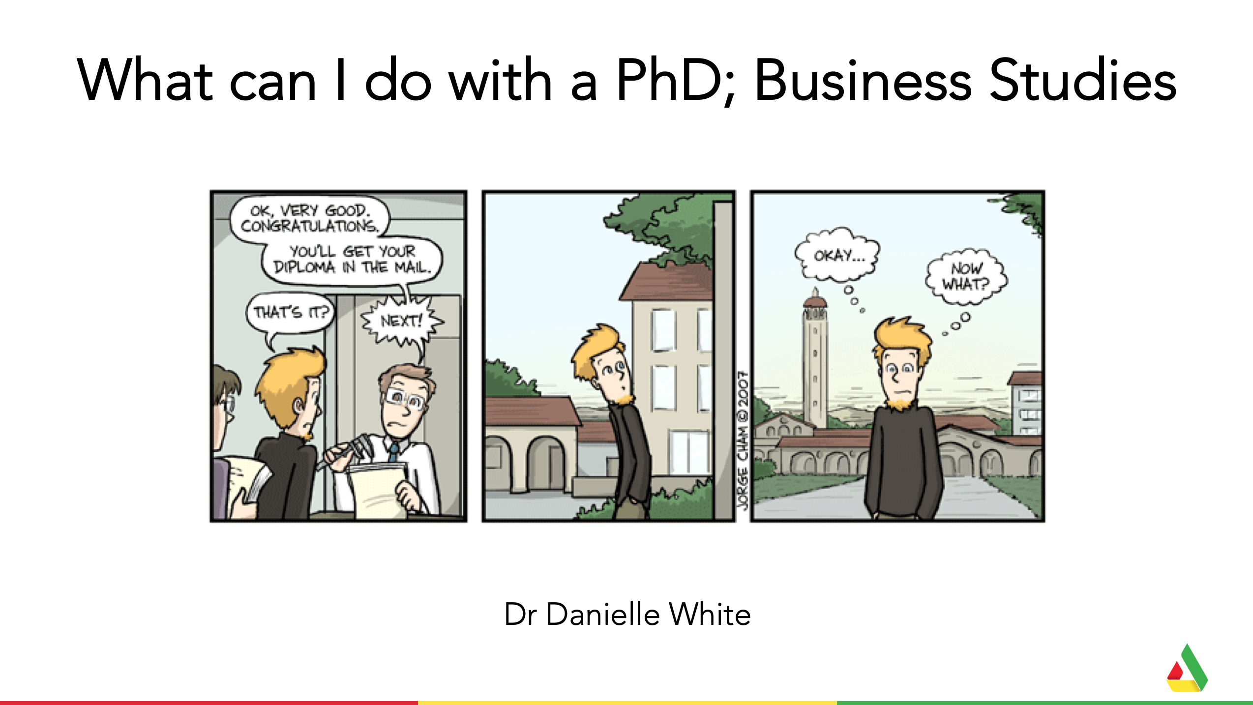 What can I do with a PhD